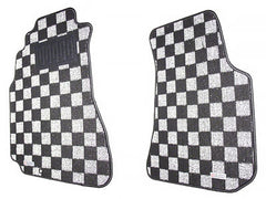 P2M Race Floor Carpet Mats Light White 1995-1998 Nissan 240SX S14