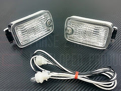 P2M JDM 180SX Type-X Single Post Front Position Lights 1989-1994 Nissan 240SX, 180SX