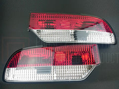 P2M Rear Tail Light Kit 1989-1994 Nissan 240SX, 180SX (3PC Crystal Style)