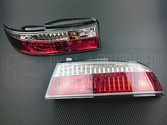 P2M Rear Tail Light Kit 1995-1998 Nissan 240SX, Silvia (3PC Crystal Style)