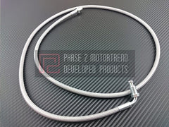 P2M Steel Braided Clutch Line 1989-1998 Nissan 240SX (Auto to Manual)