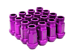 Password:JDM Purple Aluminum Lug Nuts V2 20 PC (12x1.5, Extended Open End)