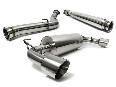 "Perrin Catback Exhaust 3"" Non-Resonated 2013-2015 Subaru BRZ"