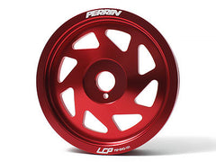 Perrin Lightweight Crank Pulley Red 2013-2015 Scion FR-S