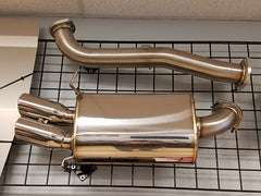 Racing Beat Dual Tip Catback Exhaust 1993-1995 Mazda RX-7 (Display)