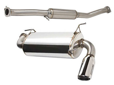 Racing Beat Power Pulse Catback Exhaust 1996-1997 Mazda Miata