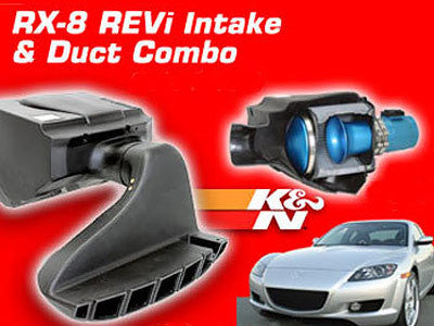 Racing Beat REVi Intake & Duct Combo 2004-2008 Mazda RX-8