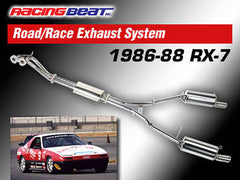 Racing Beat Road Race Exhaust System 1986-1988 Mazda RX-7 Non-Turbo
