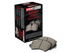 StopTech Sport Front Brake Pads 1989-1993 Nissan 240SX Non-ABS