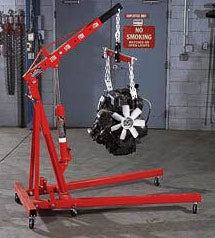 Engine Hoist Rental / Cherry Picker Rental