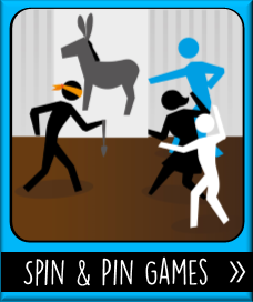 Printable Spin & Pin Party Games
