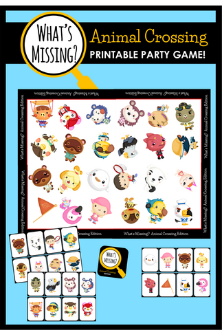 What's Missing - Animal Crossing Party Game!