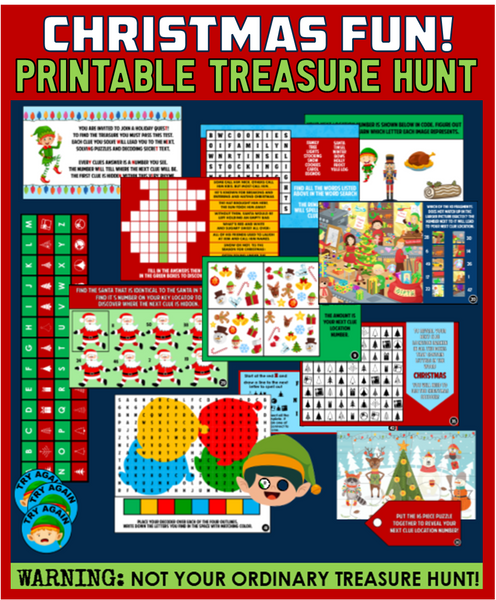 Kid's Christmas Treasure Hunt