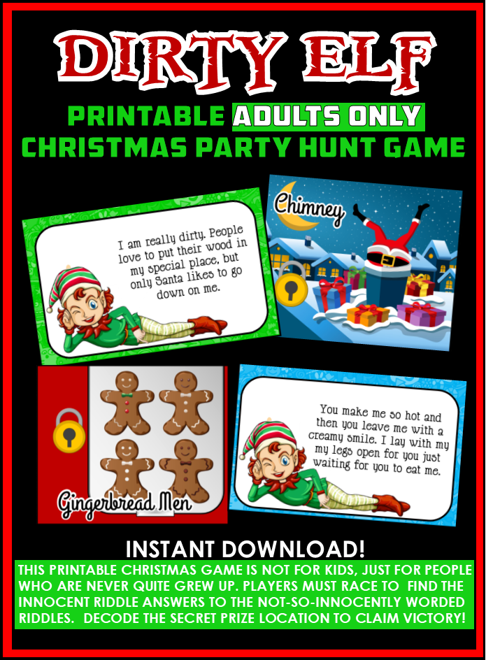33 Free Printable Christmas Games - MyPartyGames.com