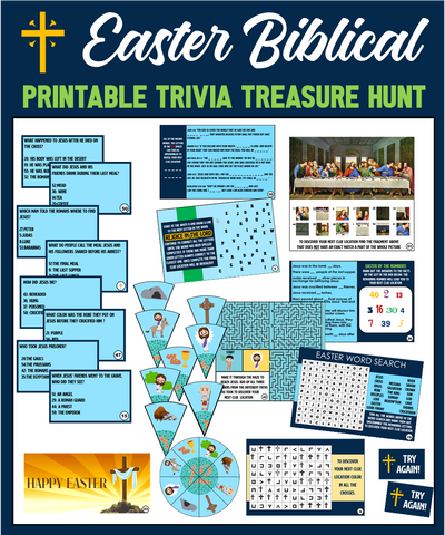 Easter Trivia Treasure Hunt - Biblical Edition!