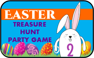 Easter Treasure Hunt Game #2 - EDITABLE!