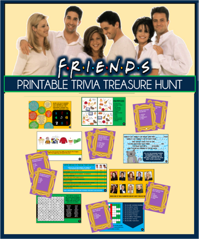 Friends Show Trivia Treasure Hunt