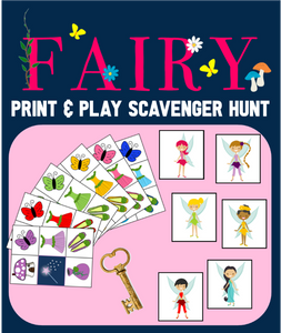 Magic Fairy Picture Scavenger Hunt