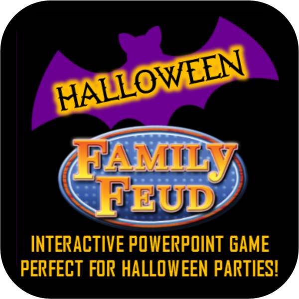 Halloween Family Feud Inspired Party Game - Interactive Powerpoint!