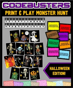 CodeBusters - Halloween Monster Edition!