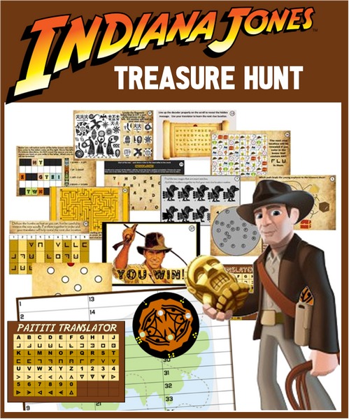 Indiana Jones Treasure Hunt