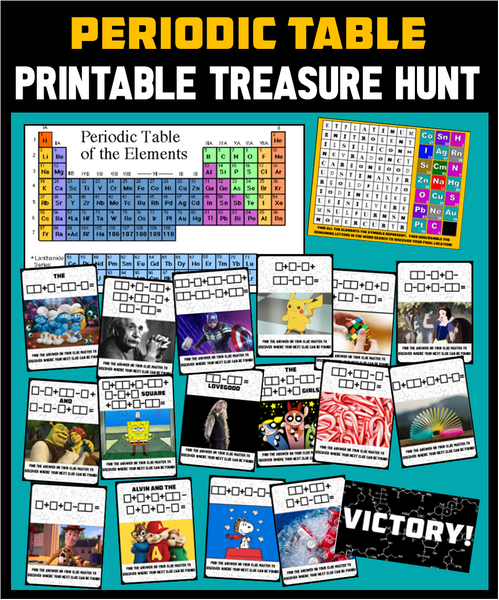 Periodic Table Treasure Hunt