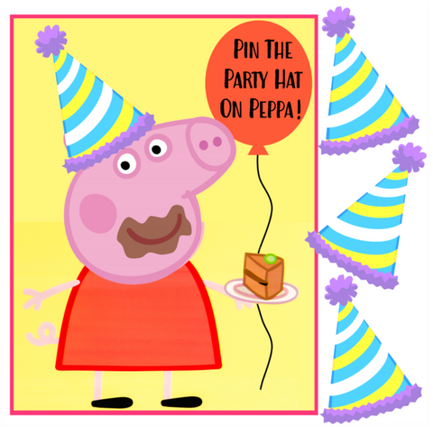 Pin the Hat on Peppa Pig
