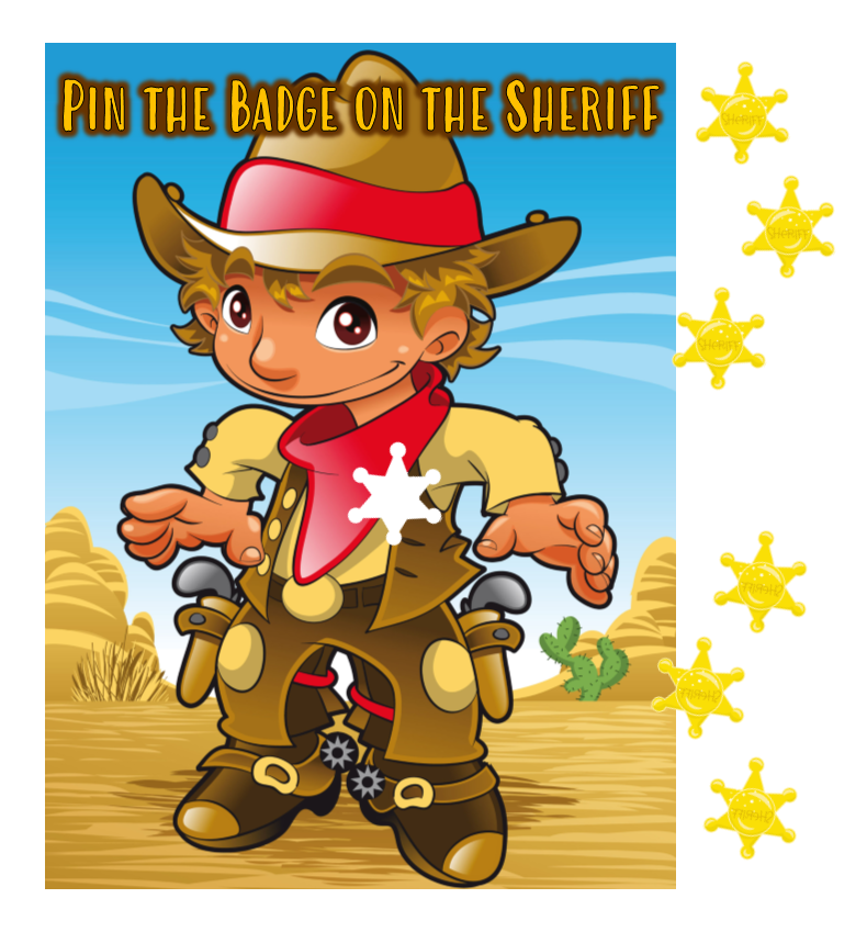 Pin the Badge on the Sheriff