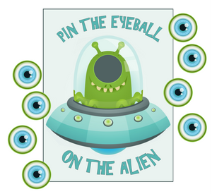 Pin the Eye on the Alien