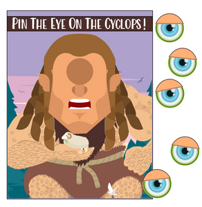 Pin the Eye on the Cyclops Game