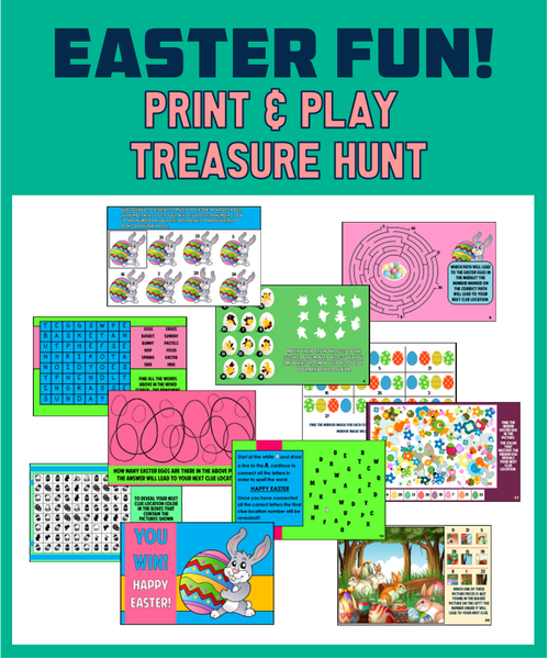 Kids Easter Treasure Hunt
