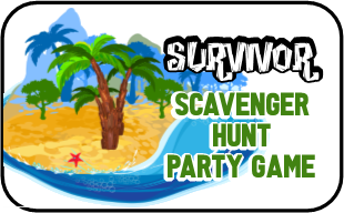 Survivor Edition Scavenger Hunt