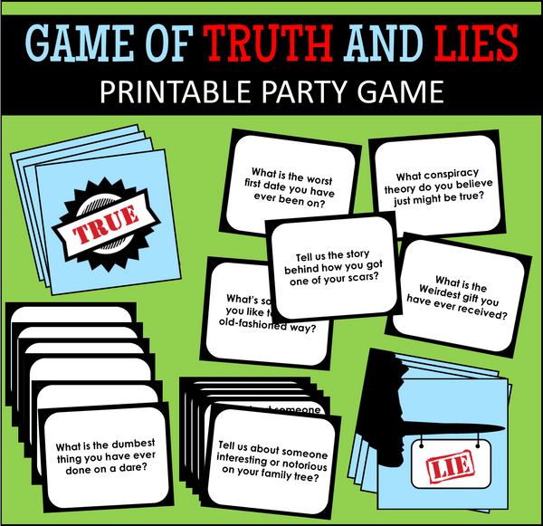 The Game of Truth or Lies!