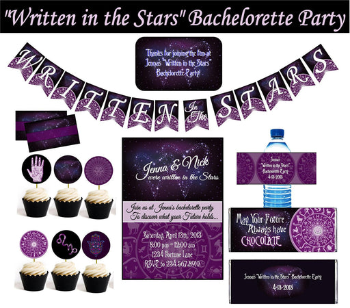 Fortune Teller Bachelorette Party Printables - PERSONALIZED