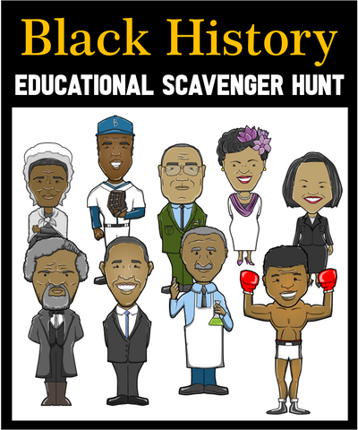 Black History Scavenger Hunt Game