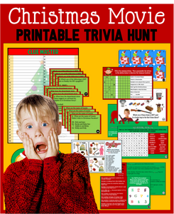 Christmas Movie Trivia Treasure Hunt