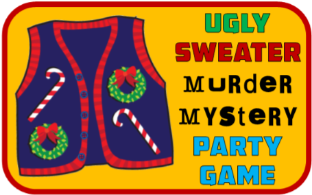 Ugly Sweater Murder Mystery Clue Game