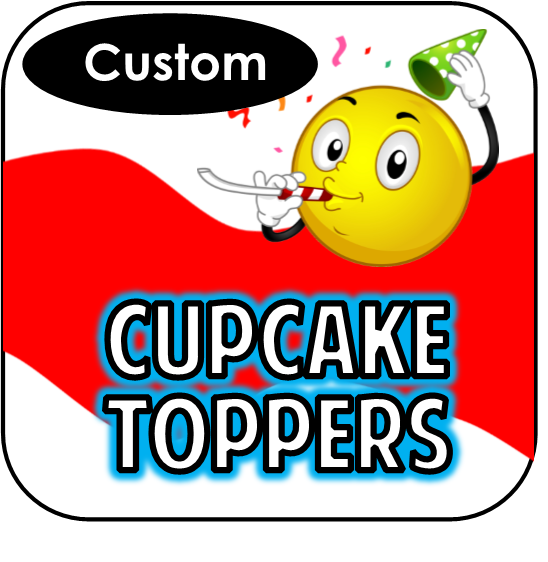 Printable Cupcake Toppers - Custom