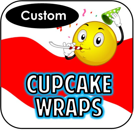 Printable Cupcake Wrappers - Custom