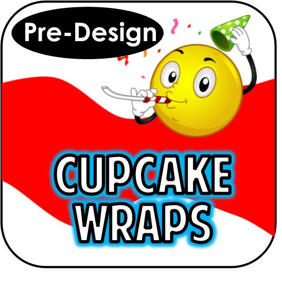 Printable Cupcake Wrappers - Pre-Design