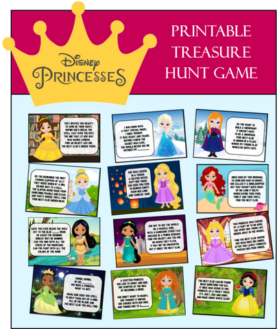Indoor Princess Treasure Hunt