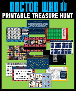 Doctor Who Printable Treasure Hunt