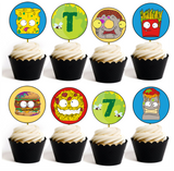 Grossery Gang Party Printables - EDITABLE!