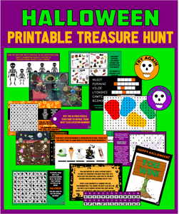 Kids Halloween Treasure Hunt