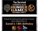 Hunger Games Party Printables - PERSONALIZED
