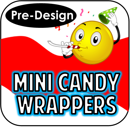 Mini Candy Bar Wrappers - Pre-Design