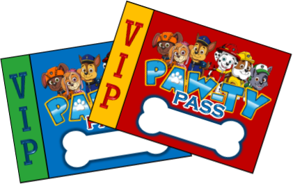 Paw Patrol Party Printables - PERSONALIZED