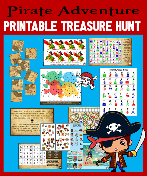 Pirate Treasure Hunt