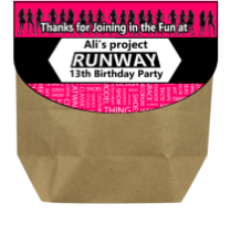 Project Runway Party Printables - EDITABLE!