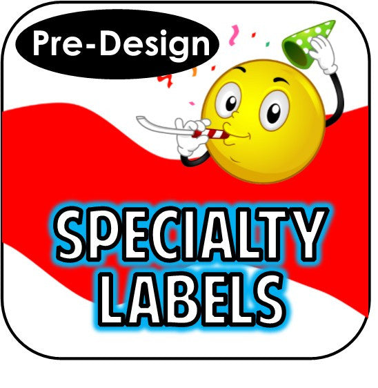 Printable Specialty Labels - Pre-Design